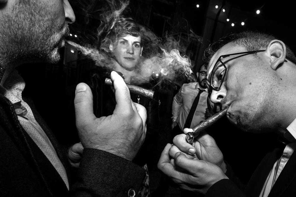 53 Fabio e Milena-Wedding-Fabrizio Demasi-Amici sigaro